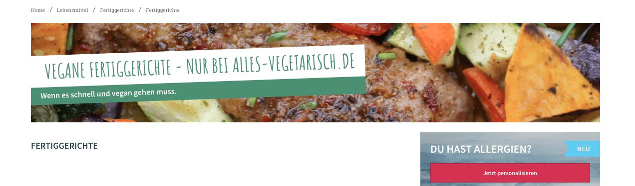gutschein vegetarisch